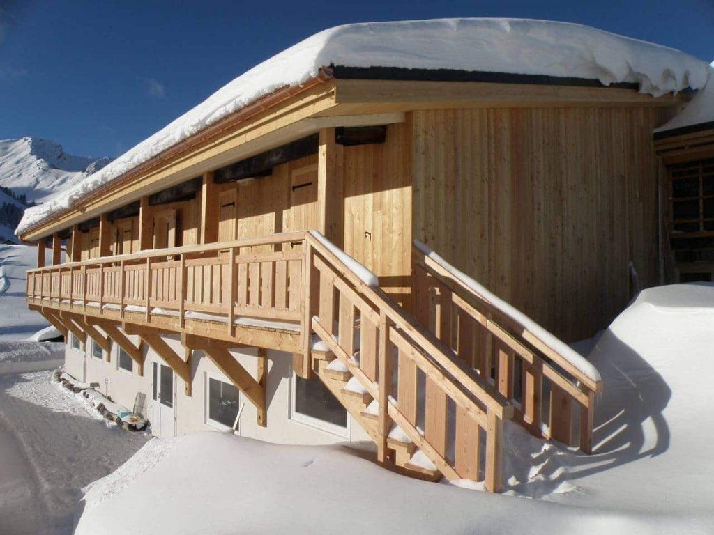 ChaleT KOOP montagne hiver