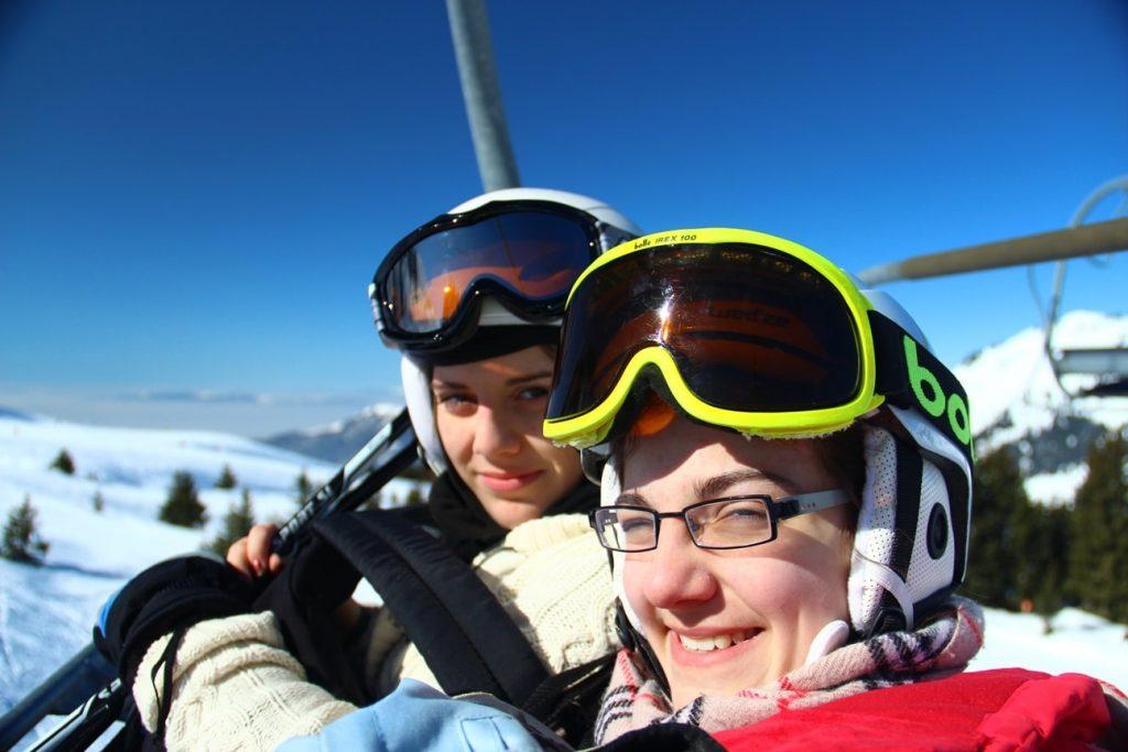 camp ados ski